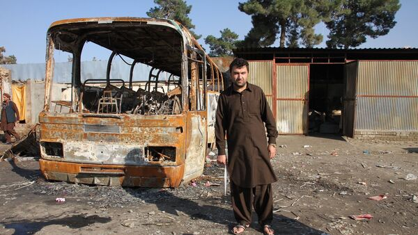 Tuesday, October 3, marked the second anniversary of the US strike on a hospital in northern Afghan city of Kunduz, which killed 42 civilians. - Sputnik International