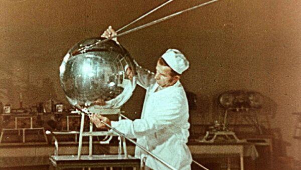 Sputnik-1, Earth's first artificial satellite. (File) - Sputnik International