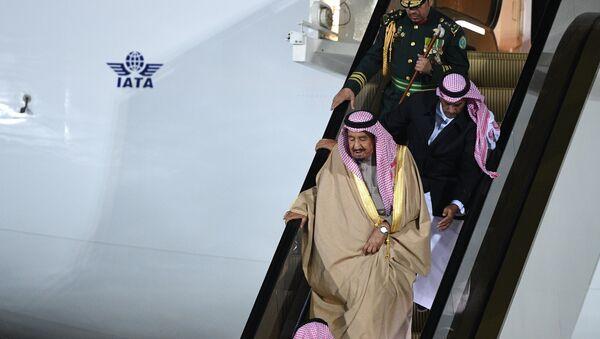 King of Saudi Arabia Salman bin Abdulaziz Al Saud arrives in Moscow - Sputnik International