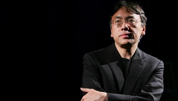 Author Kazuo Ishiguro photographed during an interview with Reuters in New York, U.S. (File) - Sputnik International