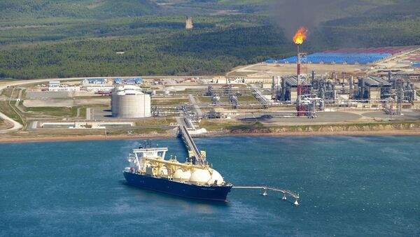Russia's liquified natural gas (LNG) production facility (File) - Sputnik International