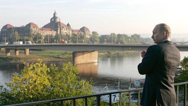 Vladimir Putin in Dresden - Sputnik International