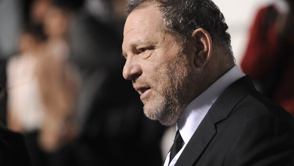 Harvey Weinstein attends The Weinstein Company and Lexus Present Lexus Short Films at the Directors Guild of America Theater on Thursday, Feb. 21, 2013, in Los Angeles - Sputnik International