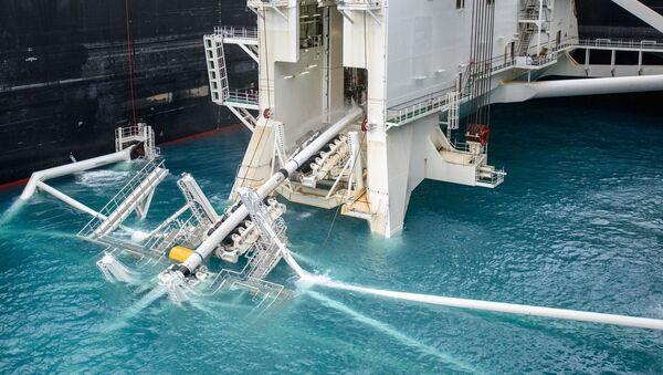 Deep water pipe laying of the TurkStream offshore pipeline - Sputnik International