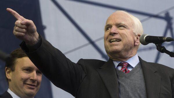 US Senator John McCain. (File) - Sputnik International