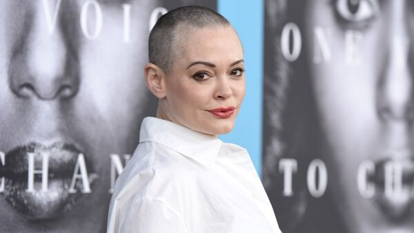 Rose McGowan arrives at the Los Angeles premiere of Confirmation at the Paramount Theatre. (File) - Sputnik International