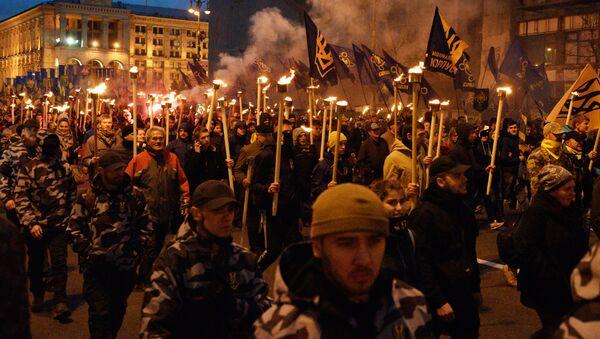 March of nationalists in Ukraine - Sputnik International