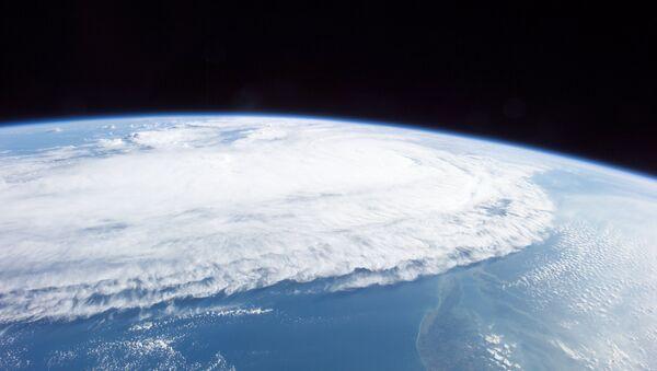 visible image of Hurricane Ophelia (16L) in the Atlantic Ocean - Sputnik International