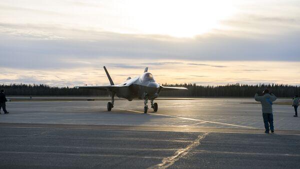 F-35A in Alaska - Sputnik International