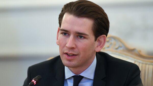 Sebastian Kurz - Sputnik International