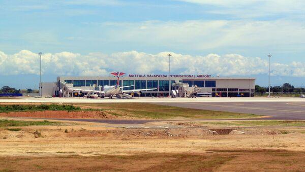 Mattala Rajapaksa International Airport Terminal. - Sputnik International