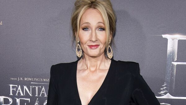 In this Nov. 10, 2016 file photo, J. K. Rowling attends the world premiere of Fantastic Beasts and Where To Find Them in New York.  - Sputnik International