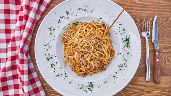 A plate of pasta - Sputnik International