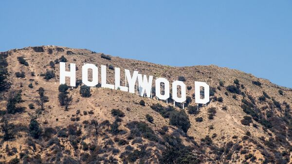 The Hollywood Sign located in Los Angeles, California - Sputnik International