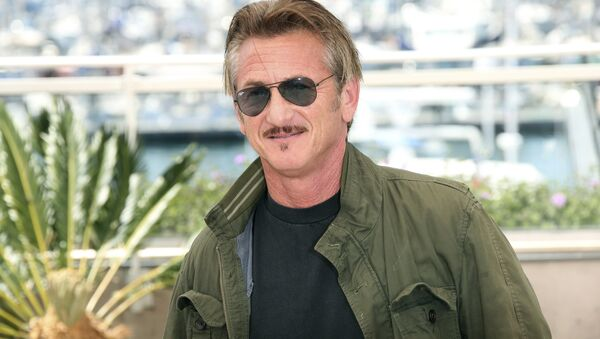 Director Sean Penn poses for photographers during a photo call for the film The Last Face at the 69th international film festival, Cannes, southern France, Friday, May 20, 2016.  - Sputnik International