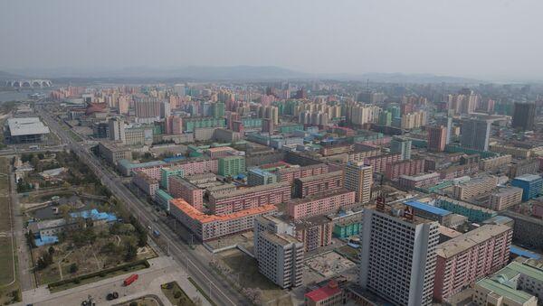 View of Pyongyang from the Juche Tower - Sputnik International