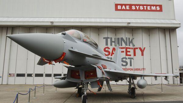 Eurofighter Typhoon at BAE Systems, Warton Aerodrome, near Warton northwest England. - Sputnik International