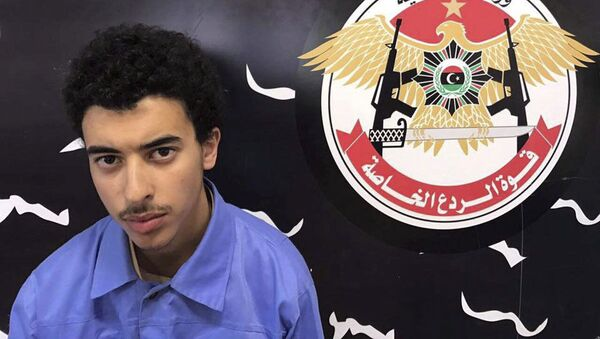 Hashem Abedi, the brother of Manchester attack bomber, is seen in this handout photo provided by Libyan Special Deterrence Force on May 25, 2017 - Sputnik International
