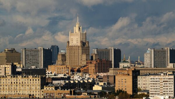 The Russian Foreign Ministry building in Moscow - Sputnik International