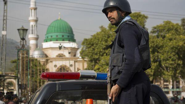 Pakistani police officer. (File) - Sputnik International