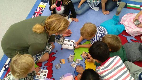 Kindergarten in Finland - Sputnik International