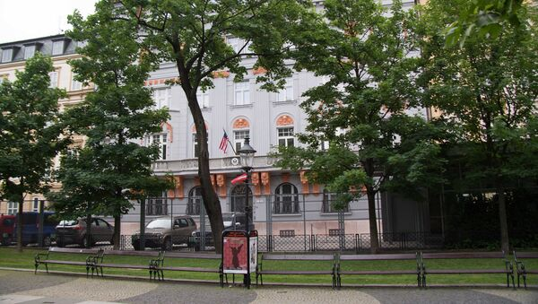 US Embassy in Bratislava - Sputnik International