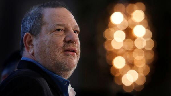 Harvey Weinstein speaks at the UBS 40th Annual Global Media and Communications Conference in New York, NY, US, on December 5, 2012 - Sputnik International
