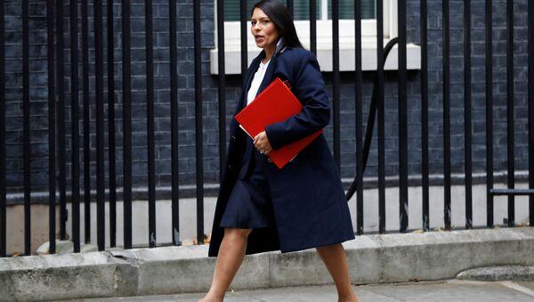 Priti Patel, Britain's Secretary of State for International Development arrives in Downing Street, in London, October 31, 2017 - Sputnik International