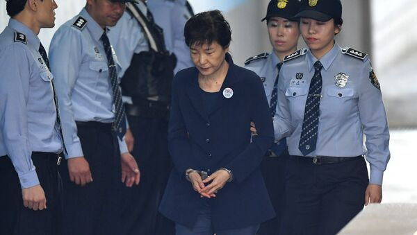 Former South Korean President Park Geun-Hye arriving at a court in Seoul. (File) - Sputnik International