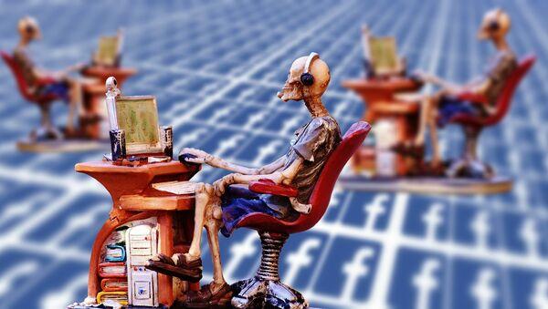Facebook, social media - Sputnik International
