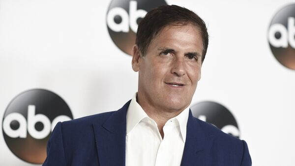 Mark Cuban attends the Disney ABC Television Critics Association 2017 Summer Press Tour at the Beverly Hilton Hotel on Sunday, Aug. 6, 2017, in Beverly Hills, Calif. - Sputnik International