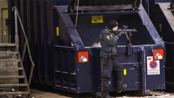 A Police officer in Norrebro. (File) - Sputnik International