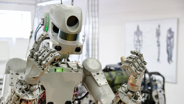 FEDOR (Final Experimental Demonstration Object Research) a humanoid robot created by Russian scientists - Sputnik International