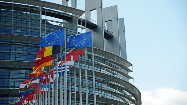 The building of the European Parliament in Strasbourg - Sputnik International