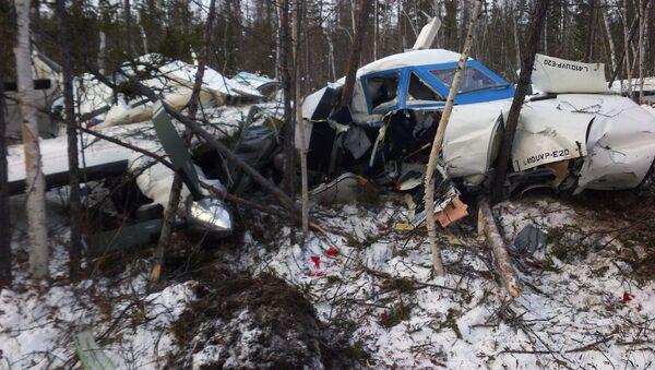 Air crash of L-410 in Khabarovsk - Sputnik International