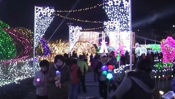 Festival of Light in South Korea - Sputnik International
