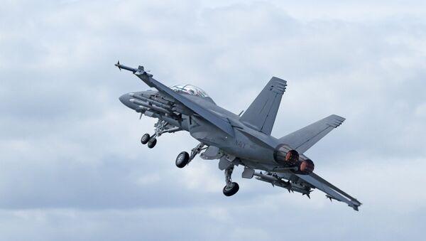Boeing F-18 Super Hornet - Sputnik International