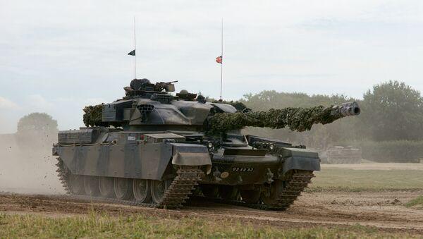 Chieftain tank - Sputnik International