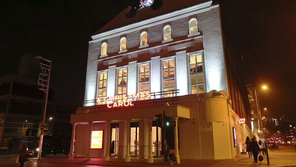 A general view of The Old Vic theatre in London, Wednesday Nov. 15, 2017, where actor Kevin Spacey used to work as Artistic Director - Sputnik International
