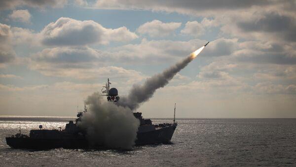Manuevers of Russian Navy's Caspian Flotilla. File photo - Sputnik International