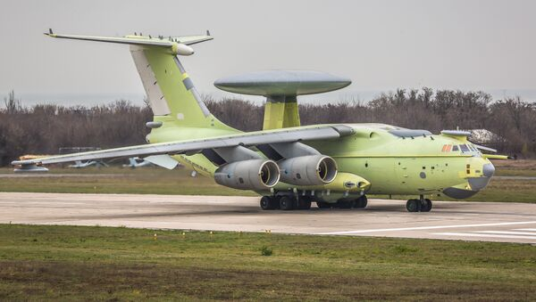 Beriev A-100 airborne early warning and control aircraft - Sputnik International
