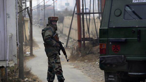 Indian army soldier. (File) - Sputnik International