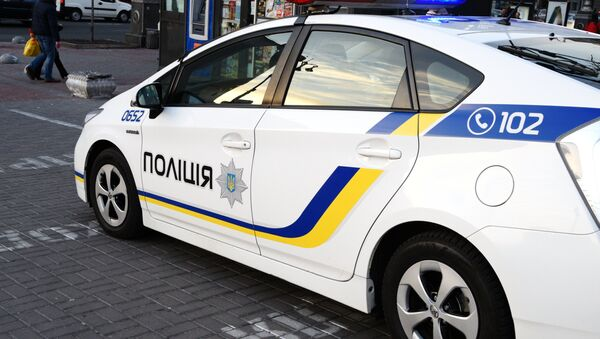 A car of the Ukrainian police in Kiev. (File) - Sputnik International