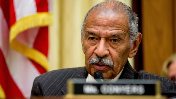 Rep. John Conyers, D-Mich., ranking member on the House Judiciary Committee, speaks on Capitol Hill in Washington, Tuesday, May 24, 2016 - Sputnik International