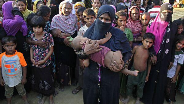 Rohingya refugees in Bangladesh - Sputnik International