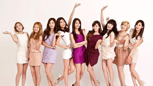 South Korean pop group Girls' Generation - Sputnik International