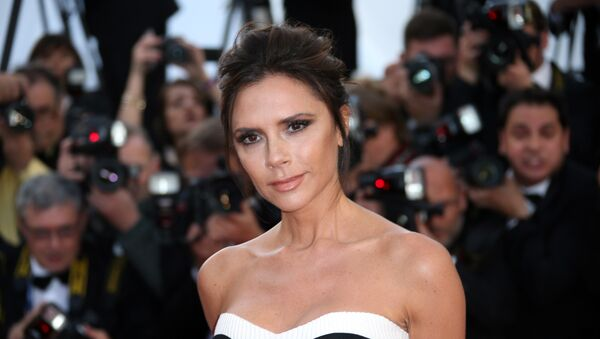 Fashion designer Victoria Beckham arrives on the red carper for the screening of the film Cafe Society and the Opening Ceremony at the 69th international film festival, Cannes, southern France, Wednesday, May 11, 2016 - Sputnik International
