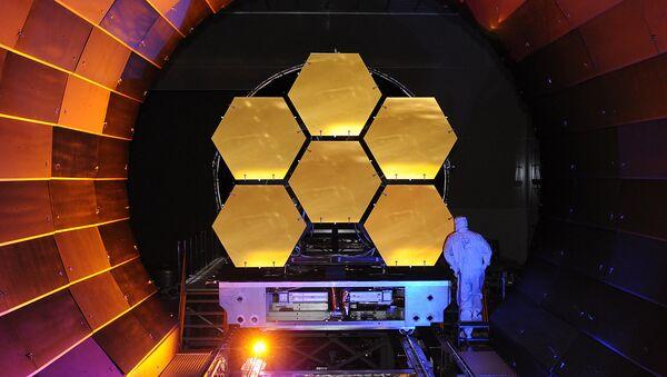 James Webb Space Telescope Mirrors Undergoing Cryogenic Testing - Sputnik International