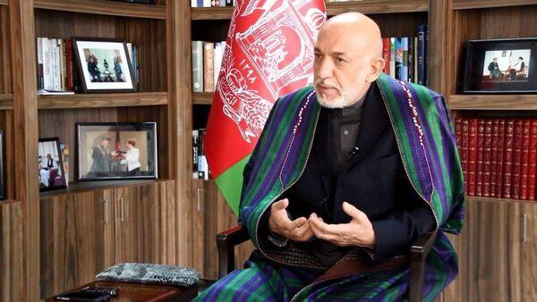 Former Afghan president Hamid Karzai - Sputnik International