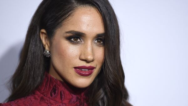 Meghan Markle arrives at ELLE's 6th annual Women in Television celebration at the Sunset Tower Hotel on Wednesday, Jan. 20, 2016, in Los Angeles. - Sputnik International